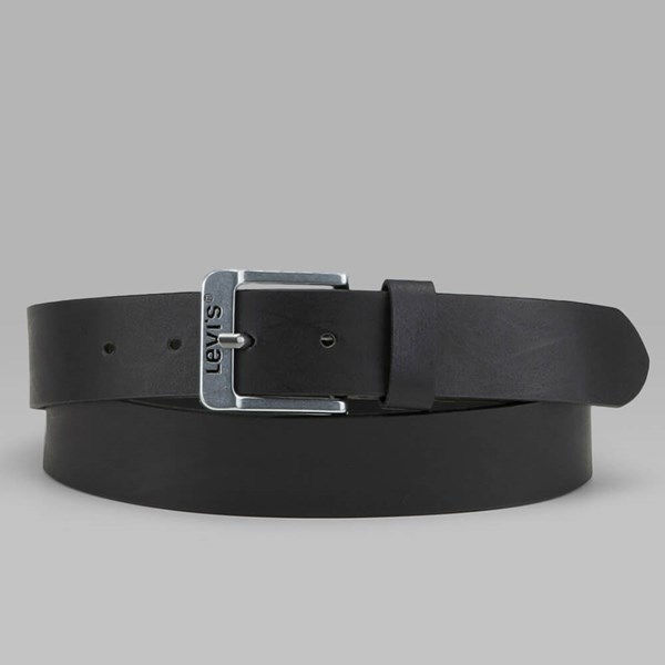 LEVI'S FREE LEATHER BELT BLACK