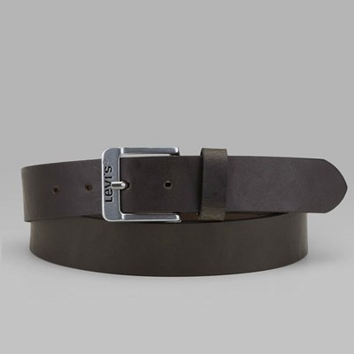 LEVI'S FREE LEATHER BELT DARK BROWN