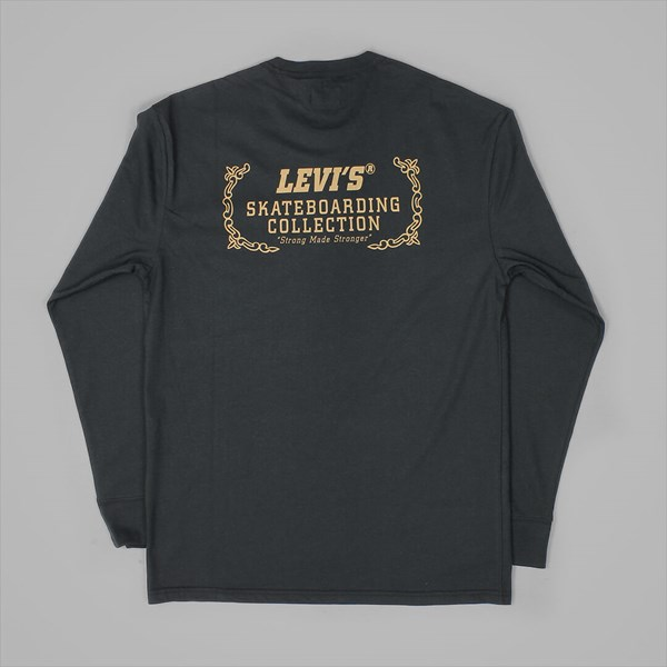 LEVI'S GRAPHIC LONG SLEEVE T-SHIRT BLACK
