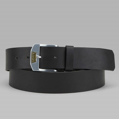LEVI'S NEW LEGEND LEATHER BELT BLACK