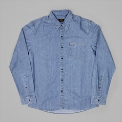 LEVI'S RIVETER LONG SLEEVE SHIRT CHAMBRAY
