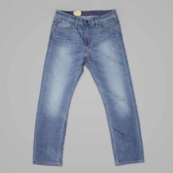 LEVI'S SKATE 504 REGULAR STRAIGHT FIT JEANS RIGID DEL SOL