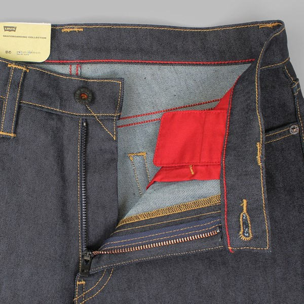 LEVI'S SKATE 504 REGULAR STRAIGHT FIT JEANS RIGID INDIGO