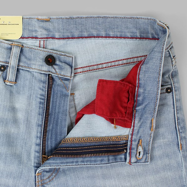 LEVI'S SKATE 511 SLIM FIT JEANS WALLER BLUE