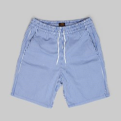 LEVI'S SKATE EASY SHORT BLUE SEERSUCKER RIPSTOP