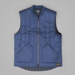 LEVI'S SKATE VEST 2 DRESS BLUES