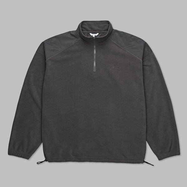 POLAR SKATE CO. FLEECE PULLOVER GRAPHITE