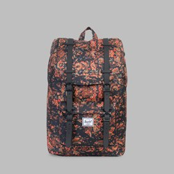 HERSCHEL LITTLE AMERICA MID VOLUME CENTURY-BLACK