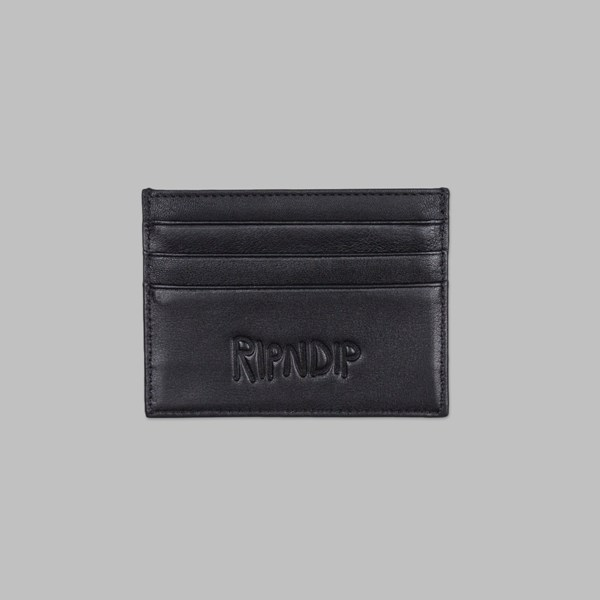 RIP N DIP LORD NERMAL CARD WALLET BLACK