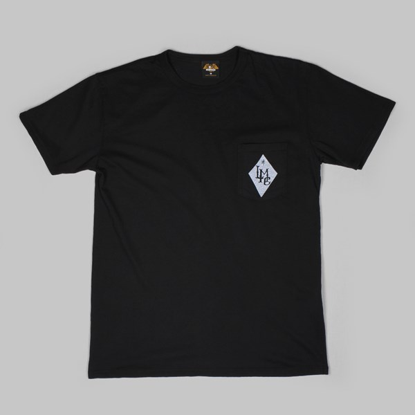 LOSER MACHINE HIGHWAY LORDS POCKET T BLACK