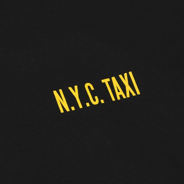 LURK NYC TAXI LONG SLEEVE TEE BLACK
