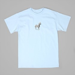 LURK NYC ZEBRA TEE POWDER BLUE