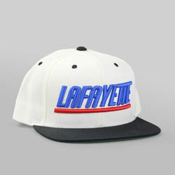 Lafayette Sports Logo Snapback Cap Natural