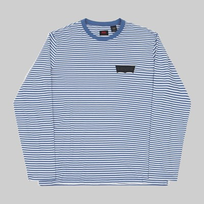 LEVI'S SKATE LONG SLEEVE T-SHIRT ULTRAMARINE
