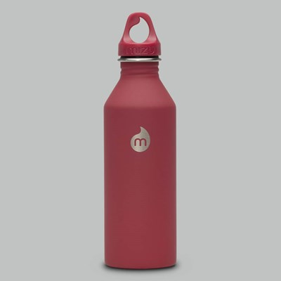 MIZU M8 STAINLESS STEEL BOTTLE 27OZ RED