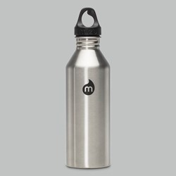 MIZU M8 STAINLESS STEEL BOTTLE 27OZ SILVER