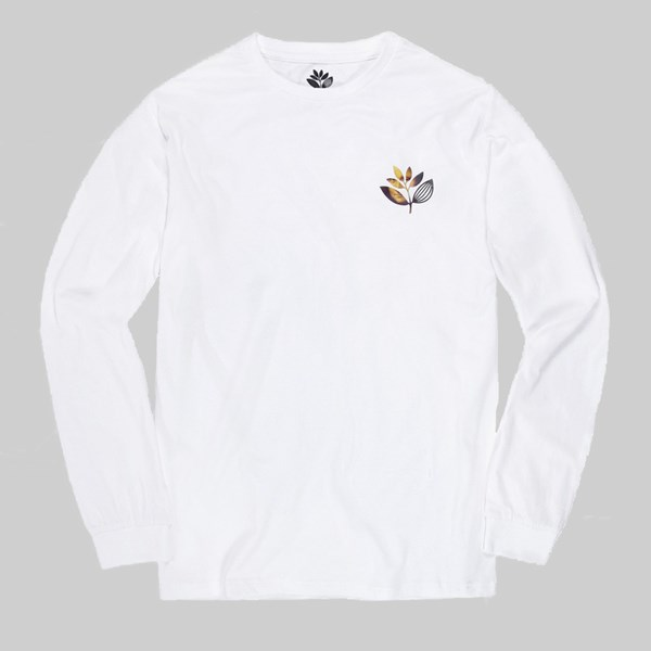 MAGENTA DA VINCI LONG SLEEVE TEE WHITE