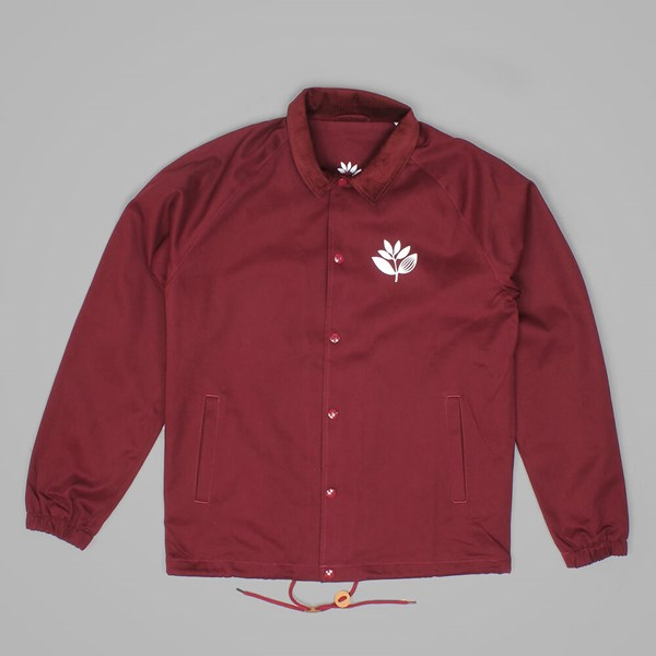 MAGENTA COTTON JACKET BURGUNDY