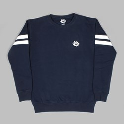 MAGENTA FC CREW NECK FLEECE NAVY