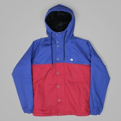 MAGENTA HOODED JACKET TRICOLOR