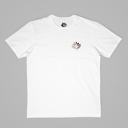 MAGENTA INNER CHILD SS TEE WHITE