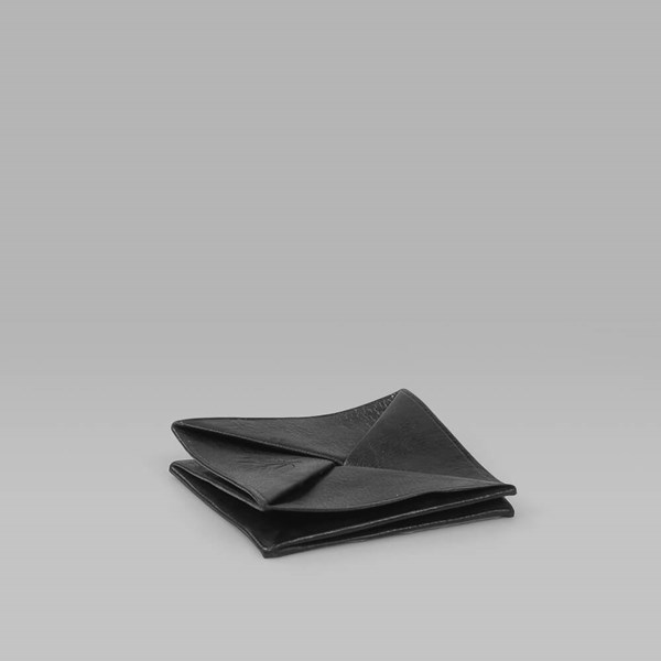 MAGENTA MORROCAN COIN HOLDER BLACK