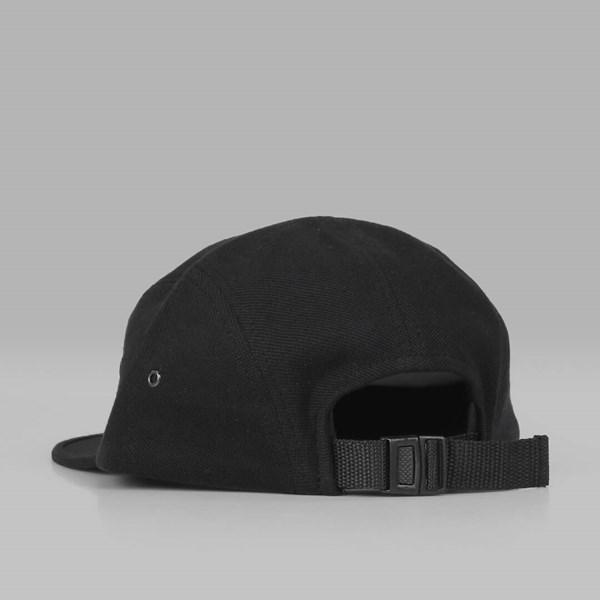 773c7950bb7 MAGENTA PLANT 5 PANEL PIQUE CAP BLACK