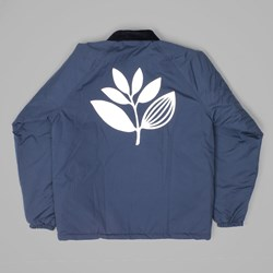 MAGENTA PLANT WINDBREAKER NAVY WHITE