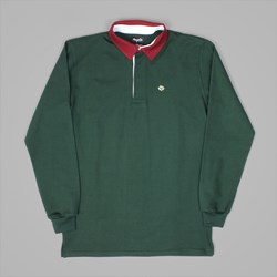MAGENTA POLO LONG SLEEVE DARK GREEN