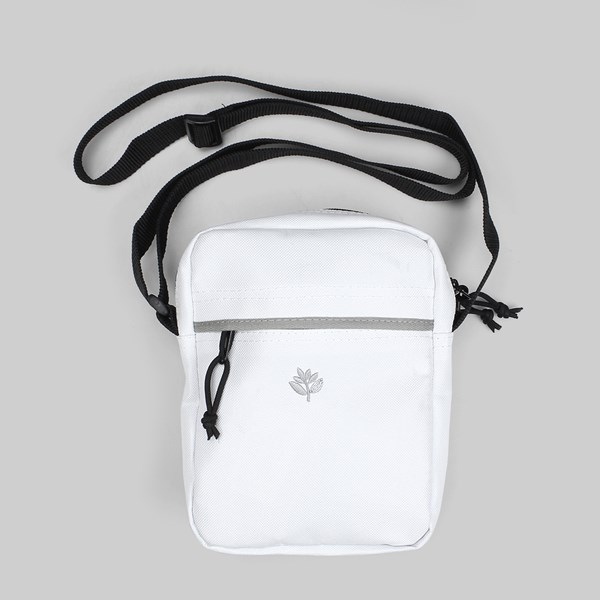 MAGENTA XL POUCH CROSSOVER BAG WHITE