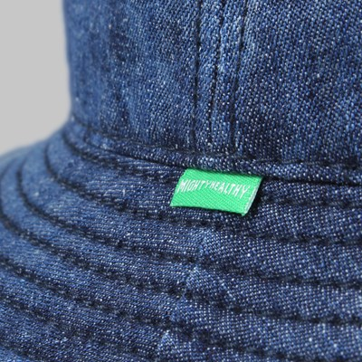 MIGHTY HEALTHY INDIGO BUCKET HAT BLUE