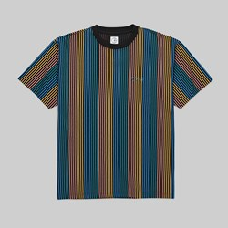 POLAR SKATE CO. MULTI COLOUR SS TEE BLACK
