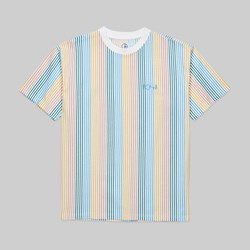 POLAR SKATE CO. MULTI COLOUR SS TEE WHITE