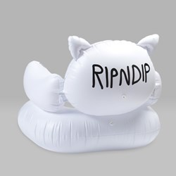 RIP N DIP LORD NERMAL INFLATABLE CHAIR WHITE