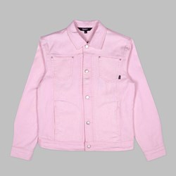 RIP N DIP NERMCASSO FLOWER DENIM JACKET PINK