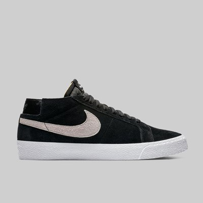 NIKE SB ZOOM BLAZER CHUKKA BLACK ATMOSPHERE GREY
