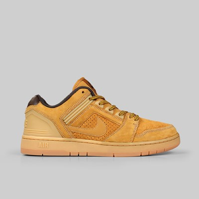 NIKE SB AIR FORCE II LOW PRM 'WHEAT PACK' ISO BRONZE BAROQUE
