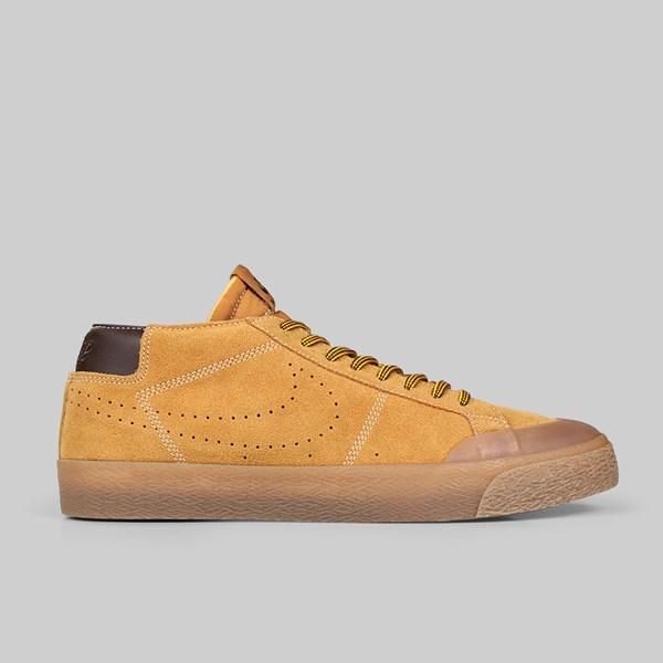 sports shoes 109b7 efd98 NIKE SB BLAZER CHUKKA XT PRM 'WHEAT PACK' BRONZE ...