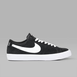 NIKE SB BLAZER LOW BLACK WHITE GUM LT BROWN