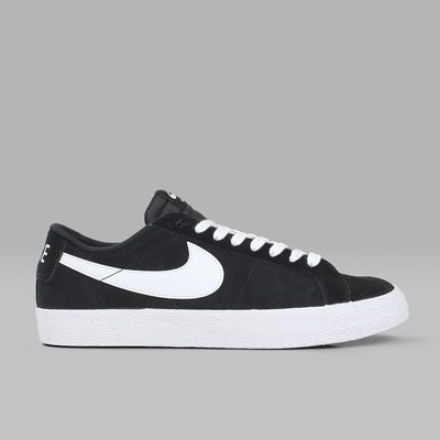 NIKE SB BLAZER LOW BLACK WHITE GUM LIGHT BROWN