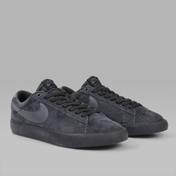 NIKE SB BLAZER LOW GT BLACK BLACK ANTHRACITE