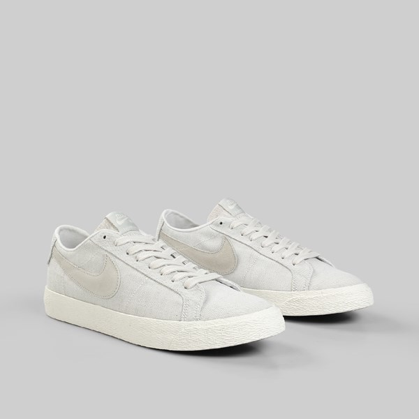 NIKE SB BLAZER LOW (LANCE MOUNTAIN) PHANTOM LT BONE