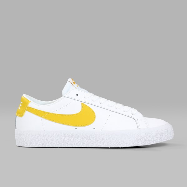 NIKE SB BLAZER LOW WHITE MINERAL GOLD