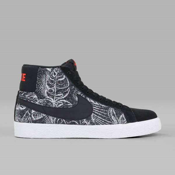 reputable site 66763 afed1 NIKE SB BLAZER MID 'JUNGLE' BLACK MAX ORANGE ...