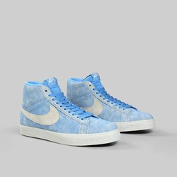 NIKE SB BLAZER MID (LANCE MOUNTAIN) UNIVERSITY BLUE LT BONE