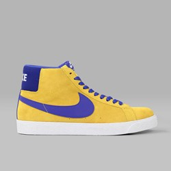 NIKE SB BLAZER MID TOUR YELLOW DEEP NIGHT