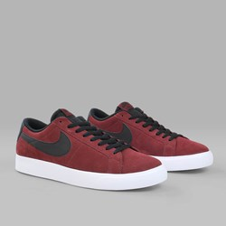 NIKE SB BLAZER VAPOR DARK TEAM RED BLACK WHITE