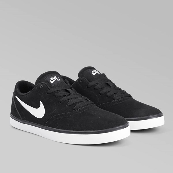 NIKE SB CHECK BLACK WHITE