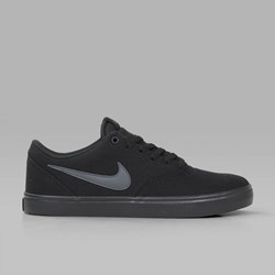 NIKE SB CHECK SOLAR CANVAS BLACK ANTHRACITE