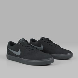 NIKE SB CHECK SOLAR CANVAS BLACK BLACK ANTHRACITE